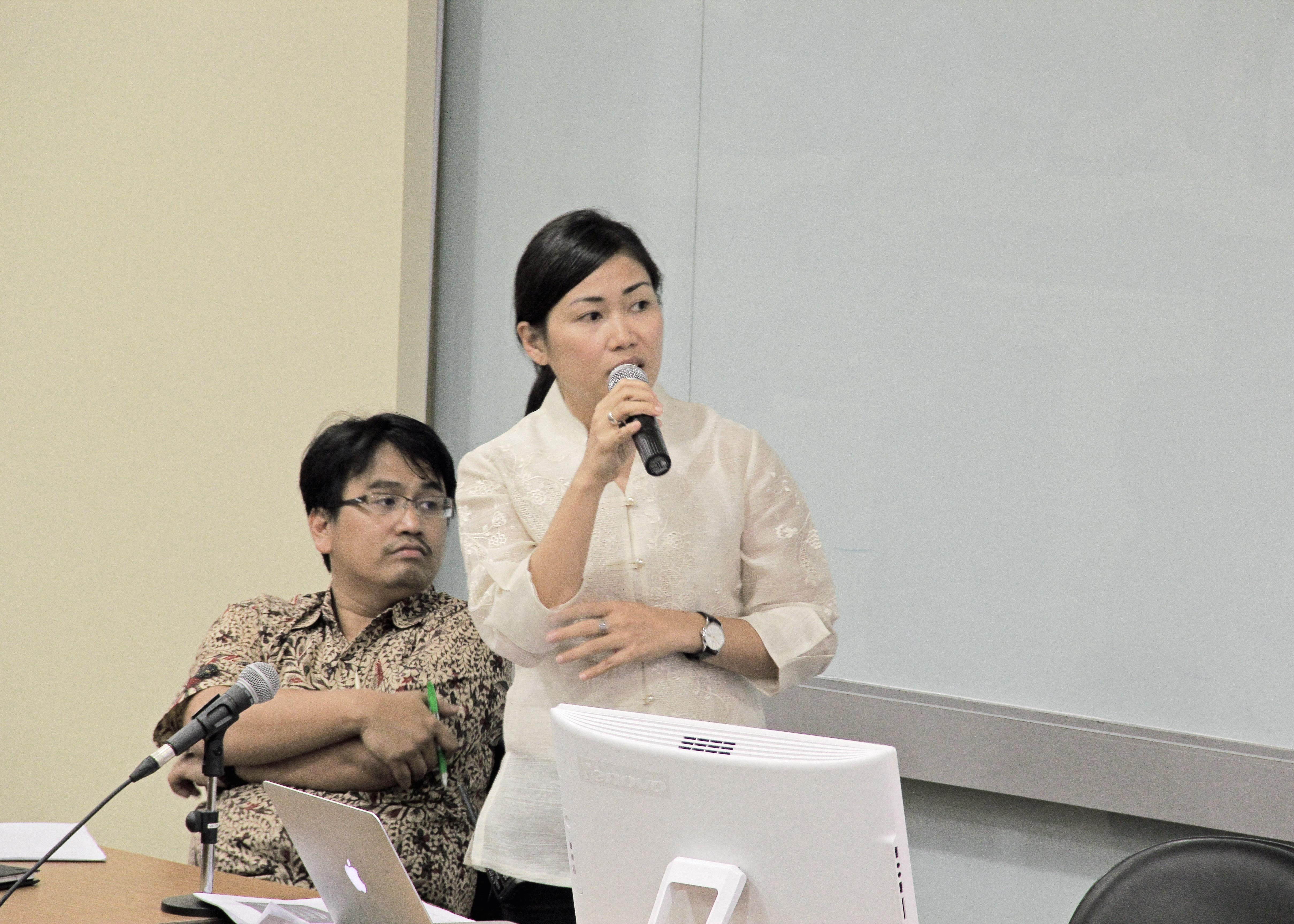 Delos Reyes in Jakarta