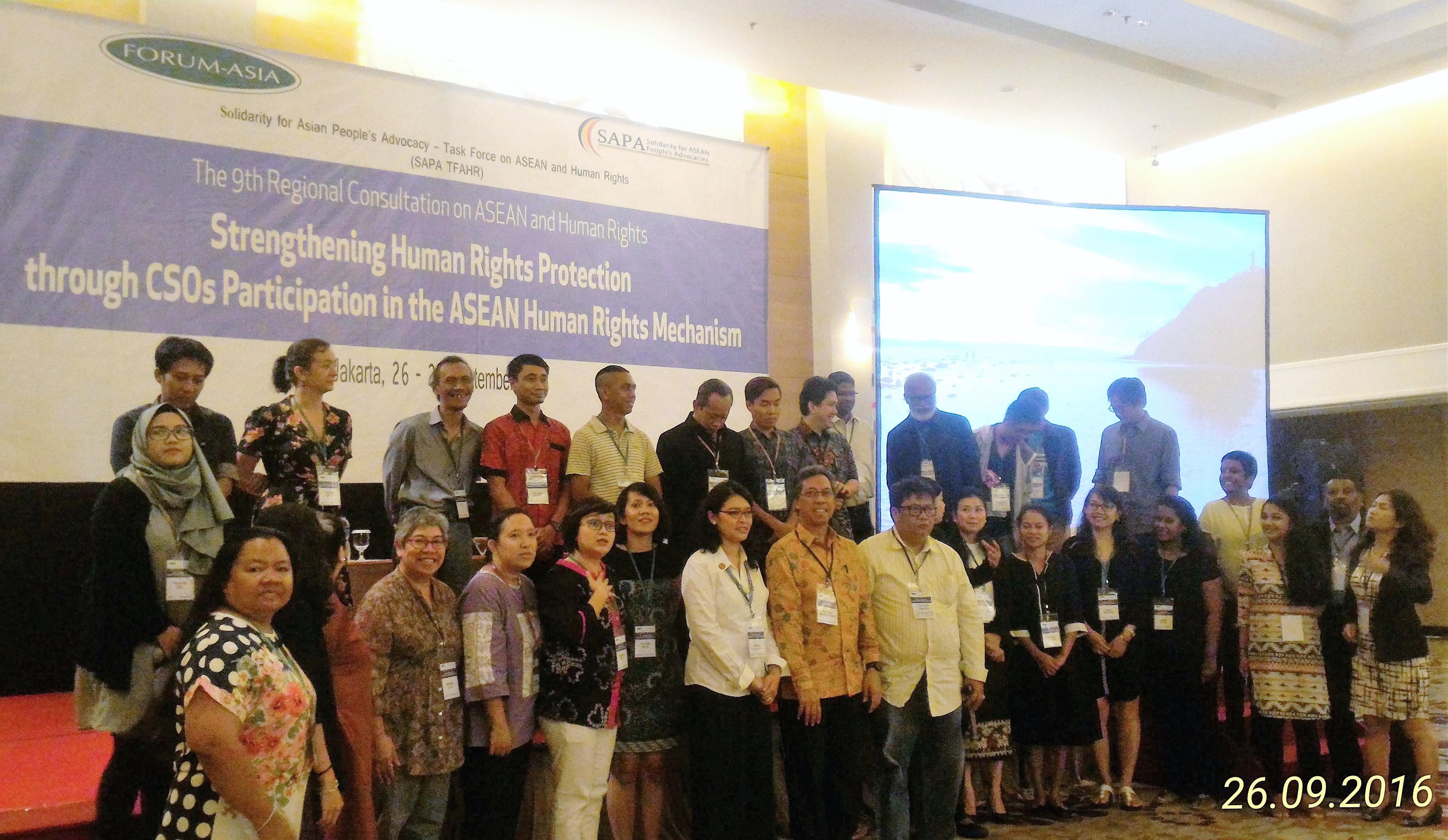 Forum Asia Consultation